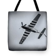 Stallion 51 - P-51d Mustang - Crazy Horse 2 Tote Bag