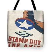 Stamp Out The Axis - Folded Tote Bag