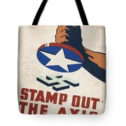Stamp Out The Axis - Vintagelized Tote Bag
