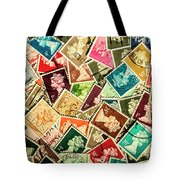 Stamping The Royal Mail Tote Bag