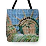 Stampue Of Liberty Tote Bag