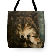 Stand By Me - Wolves Tote Bag