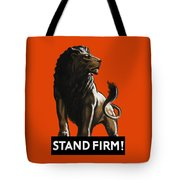 Stand Firm Lion - Ww2 Tote Bag