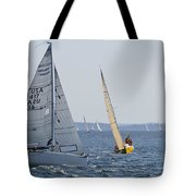 Stand On Vessel Tote Bag