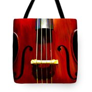 Stand Up Bass Tote Bag