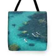 Stand Up Paddlers Tote Bag