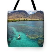 Stand Up Paddling Tote Bag