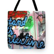 Stand With Palestine Tote Bag