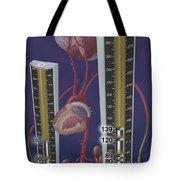 Standards For Hypertension, Illustration Tote Bag