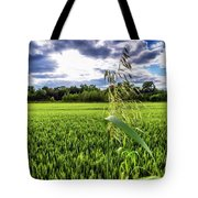 Standing Above The Crop Tote Bag