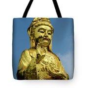 Standing Budda Tote Bag