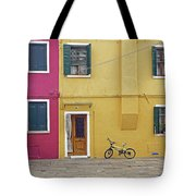 Standing By For A Quick Get Away In Burano Italy Tote Bag