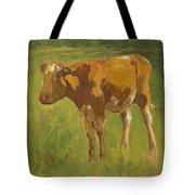 Standing Calf Tote Bag