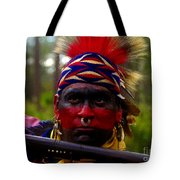 Standing Fire Tote Bag