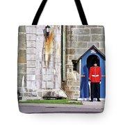 Standing Guard Tote Bag