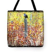 Standing Guard Tote Bag