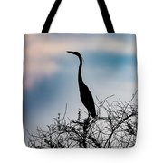 Standing High - Silhouette Tote Bag