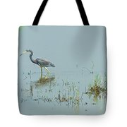 Standing In The Marshes Tote Bag