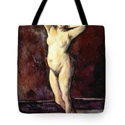 Standing Nude Woman Tote Bag