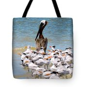 Standing On Point Tote Bag