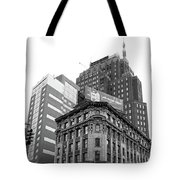 Standing On The Corner Tote Bag