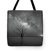 Standing Still Bw Tote Bag