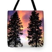 Standing Tall At Sundown Tote Bag