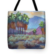 Standing Tall At Thousand Palms Tote Bag