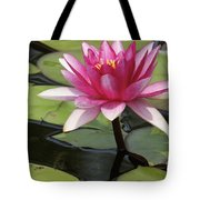 Standing Tall In The Pond Tote Bag