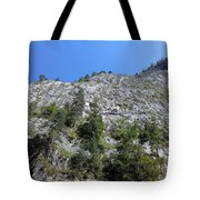 Standing Tall - The Bicaz Gorge Tote Bag