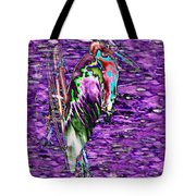 Standing Watch Tote Bag