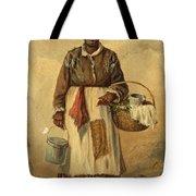 Standing Woman Tote Bag