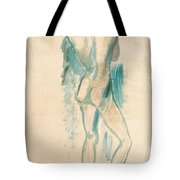 Standing Youth Tote Bag