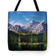 Stanley Lake Reflections Tote Bag