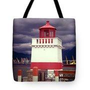 Stanley Park Lighthouse Tote Bag