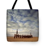 St.annes Beach, Lancashire, England Tote Bag