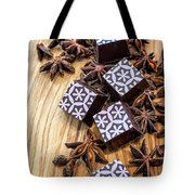Star Anise Chocolate Tote Bag