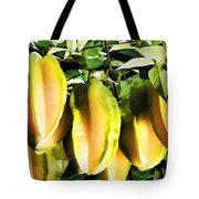 Star Apple Fruit On Tree Tote Bag