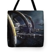 Star Citizen Enlistment - Join Free Today Tote Bag