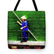 Star Ferry Man Tote Bag