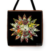Star Flower Bouquet Creation By Navinjoshi At Fineartamerica.om Graphics Art   Elegant Interior Deco Tote Bag
