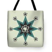 Star Flower - The Light Side Tote Bag