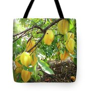 Star Fruit Belongs To The Plant Family Tote Bag