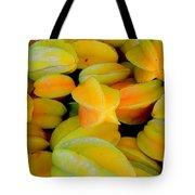 Star Fruit Tote Bag