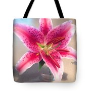 Star Gaze Lilly Tote Bag