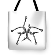 Star Hooks Tote Bag by Jacqueline Endlich