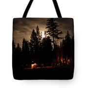 Star Lit Camp Tote Bag