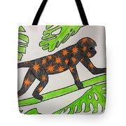 Star. Monkey  Tote Bag