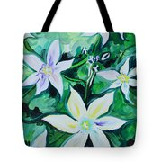 Star Of The Garden Tote Bag