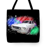 Star Of The Show - 66 Mustang Tote Bag